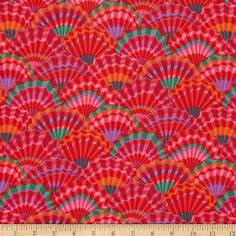 Kaffe Fassett Home Decor Fabric by Kaffe Fassett Paper Fans Discount Designer Fabric