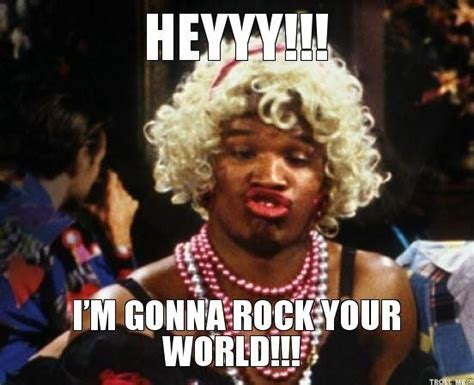 Wanda Meme - in living color wanda i was gonna rock your world my
