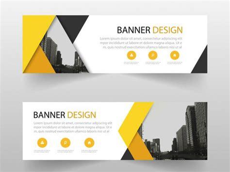 desain banner keren 10 contoh background banner horizontal dengan tilan