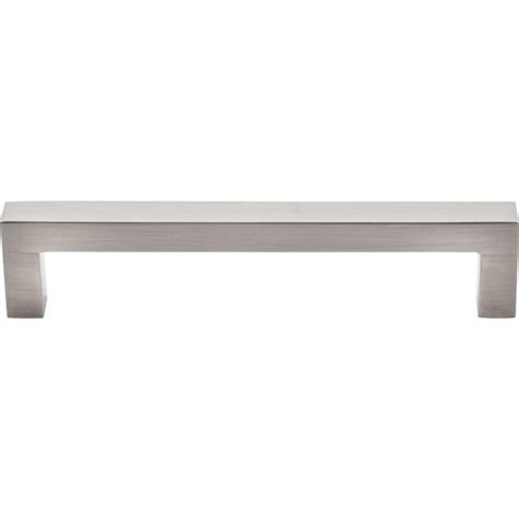 Top Knobs Square Bar Pull by Top Knobs M1158 Bsn Asbury Square Bar Pull 5 1 16 Inch