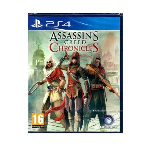 Murah Ps4 Assassin S Creed Chronicles jual sony ps4 assassin s creed chronicles dvd harga kualitas terjamin blibli