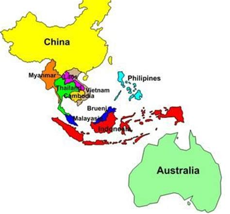 labelled map of asia east asia map labeled clipart best