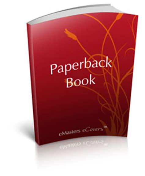 Paper Books - ecover paperbackbookstanding