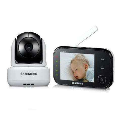 samsung sew 3037w wireless baby monitor with infrared vision and zoom
