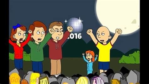 caillou new year caillou gets grounded on new years by vehabegos dailymotion