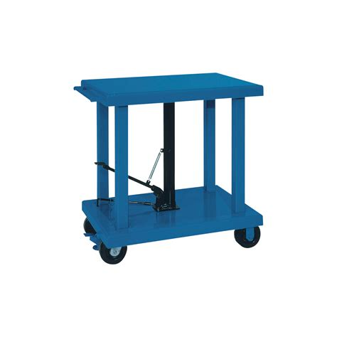 hydraulic table lift wesco manual hydraulic lift table 6 000 lb capacity