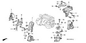 1998 honda accord engine parts diagram get free image