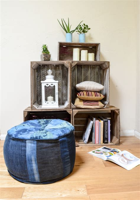 how to make floor cushions how to make a denim floor cushion myers creations