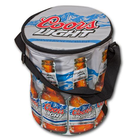 coors light cooler bag coors light round beer cooler bag