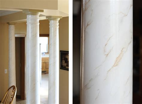 faux painted columns faux marbled columns db decorative painting