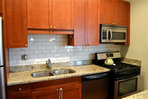 installing subway tile backsplash in kitchen how to install glass tile sheets backsplash tile design