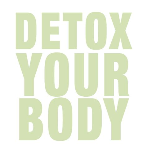 Detox From Doing The Time by Detox Your