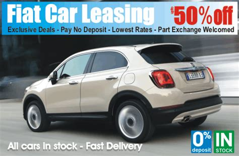 fiat car leasing best fiat car hire leasing available at time4leasing