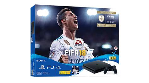 Ps4 Slim Console 500gb Cuh 2006 Fifa 2018 Bundle Psn Garansi 2 Thn playstation 4 playstation