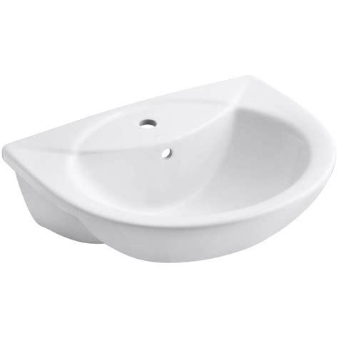 home depot drop in bathroom sinks kohler odeon drop in bathroom sink in white k 11160 1 0