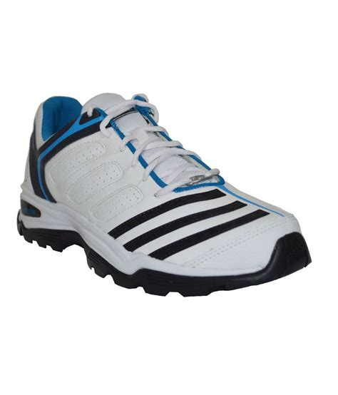 adidas white blue synthetic leather sport shoes price in