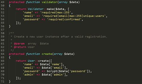 membuat login laravel 5 2 dengan username dan hak akses laravel 5 2 quot multiuser login authentication dan router