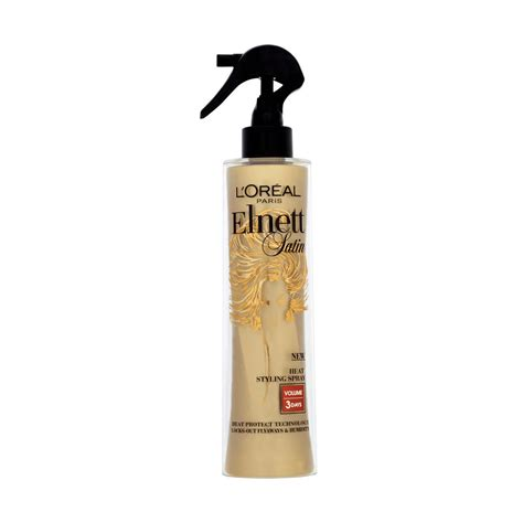 Catok Rambut Jh Shidai Ionic Styler Pro loreal elnett satin heat spray volume sfw pro care