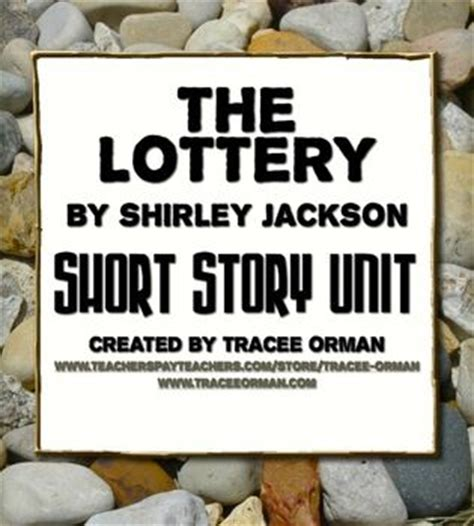 themes in the story the lottery quot the lottery quot by shirley jackson unit with hunger games