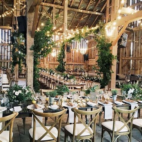 Barn wedding featuring our Harvest Tables   Our Events And