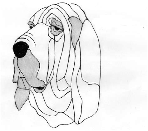 coloring pages of bloodhounds bloodhound stained glass pets pinterest bloodhound