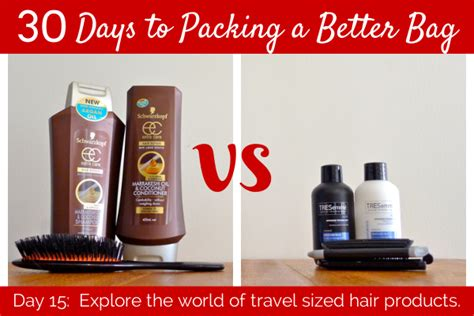 Pitera Wellcome Kit Travel Size day 15 explore travel size hair products packing list