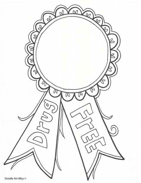 coloring pages for ribbon week amazing ribbon week coloring pages to motivate in