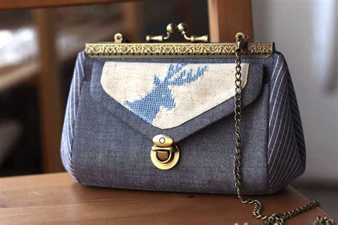 Handmade Clutch Purse Pattern - 6 inch clutch purse tutorial for frame clutch pattern