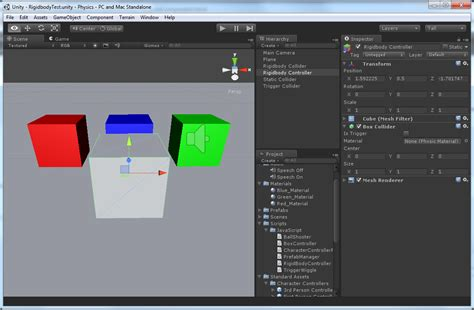 unity tutorial trigger physics in unity 3 53d game engine programming