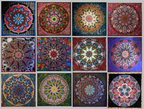 Kaleidoscope Patchwork Quilt Pattern - 17 best images about kaleidoscope quilts on