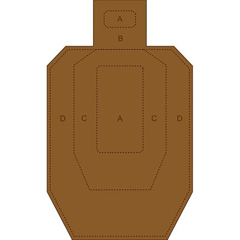 printable mini idpa targets law enforcement targets action target ipsc uspsa