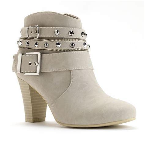 s high heel ankle boots kohls let