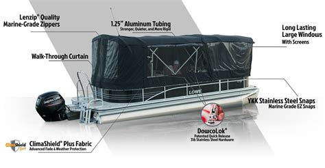 pontoon side curtains lowe pontoon boat covers enclosures double biminis and
