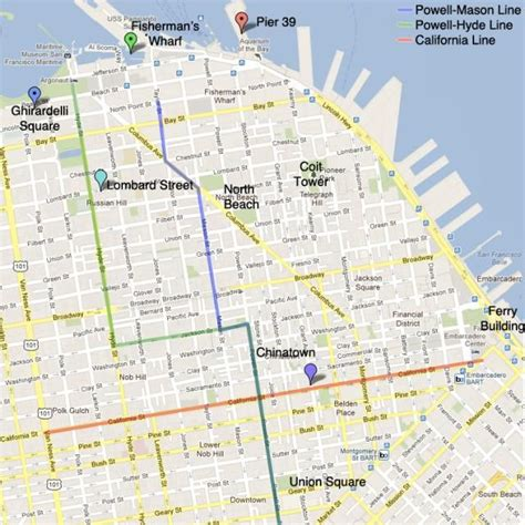 cable car san francisco map best 25 lombard ideas on san francisco