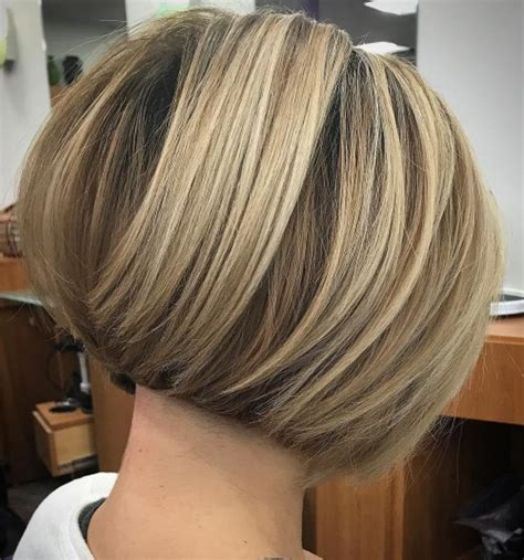 cut your own hair stacked bob 60 classy short haircuts and hairstyles for thick hair