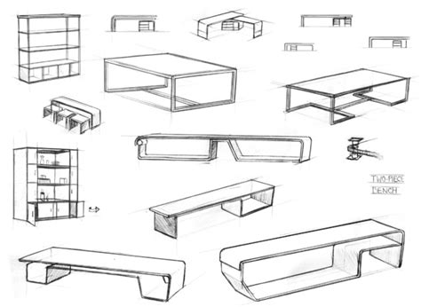 how to design home furniture furniture design sketches