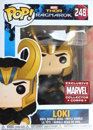 Funko Pop Marvel Helmet Loki funko pop thor ragnarok checklist set info gallery