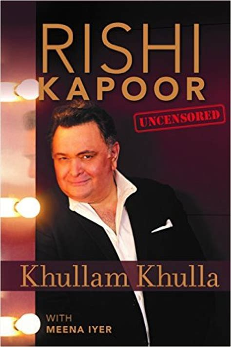 biography book online khullam khulla by rishi kapoor biography book review