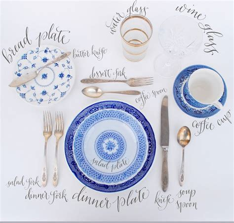table setting chart 25 best ideas about proper table setting on pinterest