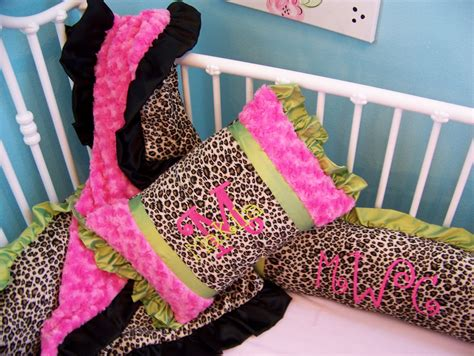 pink and leopard crib bedding southern bliss boutique makila s leopard and pink bedding