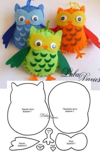 Boneka Gantungan Kunci Burung Hantu cara membuat boneka hewan dari kain flanel terbaru penulis cilik