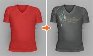 V Neck T Shirt Template by Photoshop V Neck Shirt Mockup Templates Pack