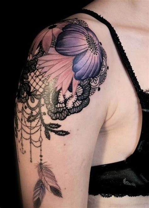 female shoulder tattoos 28 girly shoulder tattoos girly tattoos david meek