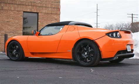 Tesla Sport Roadster Car And Driver