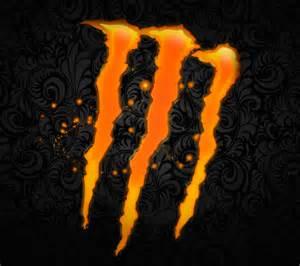the gallery for gt orange monster energy logos