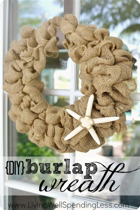 printable instructions to make a burlap wreath burlap wreath