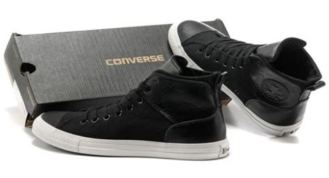 Converse Allstar For And Mans p599zuvz authentic converse leather black