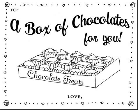 Chocolate Printable