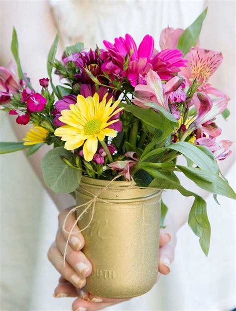 diy flower arrangements diy flower arrangements and gold glitter vases