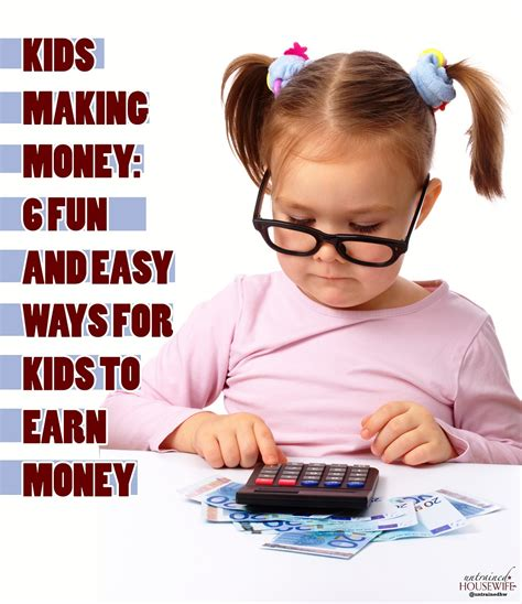 How To Make Money Fast Online For Kids - how kids can make money vertola